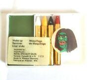 Vintage Halloween Make Up Green Monster Maquillage de Maquillage West Germany