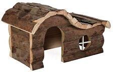 Trixie Natural Living Wooden Hanna House Hamster Pet Rat Gerbil Guinea Pig Small - 62051