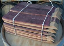 French Oak, 1/2 Barrel of Staves, Rustic,Mix 17''