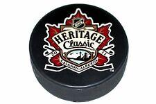 2011 NHL Heritage Classic Souvenir Puck (Calgary)