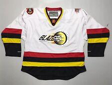 Oklahoma City Blazers Authentic Hockey Jersey WSHL Size 48 Ice Hockey RARE OKC
