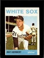 1964 TOPPS #215 RAY HERBERT EX WHITE SOX  *XR20482