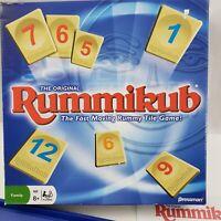 Rummikub Fast Moving Rummy Tile Board Game 1997 Pressman Complete