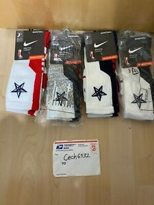 NIKE ELITE 2.0 USA BASKETBALL SOCKS LARGE RED NAVY SX4667 161 LIMITED AUTHENTIC
