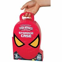 Spiderman Web Attack Storage Box, -  12 Slingers & Whole 50 Battle Chips
