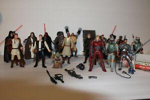 LARGE Star Wars Action Figure Loose Lot 3.75 Inch Mandalorians/Boba Fett/Jango