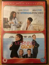DVD No Strings Attached Morning Glory 2012 Portman Kutcher Keaton McAdams Ford