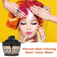 Electric Hair Coloring Bowl Hair Cream Mixer Automatic Mixer LCD Display Q3N4