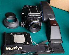 Mamiya RZ67 Pro II Body w/ 110mm  Lens, Prism Finder Nice