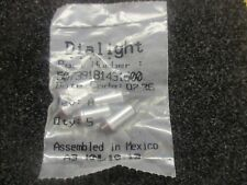 Lot of Dialight Part Number: 507-3918-1431-600 Qty. 5. Red. New Old Stock<