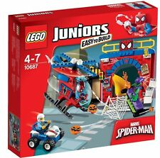 Lego 10687 Juniors Spider-man Hideout and