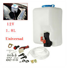Universal UTV Car SUV Windshield Washer Pump Reservoir Kit 12V Washer Flui Part