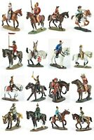 Del Prado Lead soldiers figure 1/32 cavalry through the ages variety about 3.14""