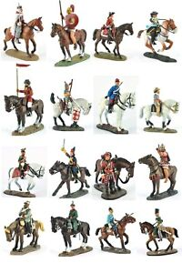 """Del Prado Lead soldiers figure 1/32 cavalry through the ages variety about 3.14"""""""