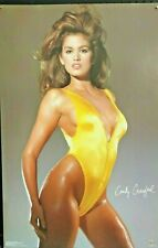 Cindy Crawford, Vintage Poster, 35x21 inch. FREE INT.SHIPPING
