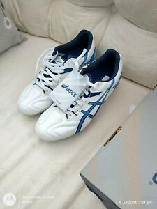 Asics Lethal Tigreor 6 ST Soft Ground Rugby Boots - White - New