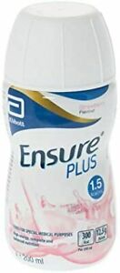 12 x Ensure Plus Strawberry Milkshake Style 200ml (12 x 200ml) - NEW