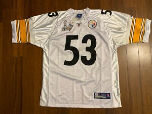 Reebok Premier NFL Trikot Pittsburgh Steelers Maurkice Pouncey Schwarz Throwbk L