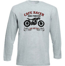 VINTAGE JAPANESE MOTORCYCLE HONDA CB 550 CAFE RACER - NEW COTTON T-SHIRT