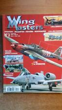 WING MASTERS N° 3 / AVIATION - MAQUETTES - HISTOIRE - GUERRES - 1939-1945