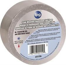 "NEW INTERTAPE 9503 3"" X 50 YARD COLD WEATHER ALUMINUM FOIL TAPE  HVAC 4673463"