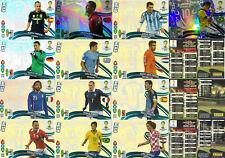 Set complete Panini Adrenalyn xl UPDATE Brazil 2014 Fifa World Cup 1 & 2