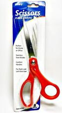 "Allary #230 Stationery Lightweight 8"" Scissors, Red"