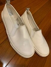 Divided By H&M Women White Flats US 8 Euro 38