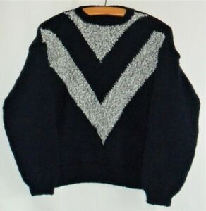 Hand Knitted Crew Neck Jumper