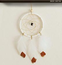 Handmade Dream Catcher Net With Feathers Car Home Hanging Decor DIY Craft 25cm