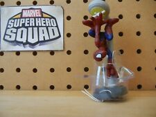 Marvel Super Hero Squad RARE Variant SPIDER-MAN Hanging Lamppost Mary Jane Pack