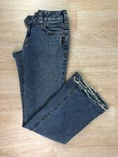 Used Mens Sz 31 Silver Jeans Light Wash Denim Blue 5 Pocket Tuesday Flare Trouse