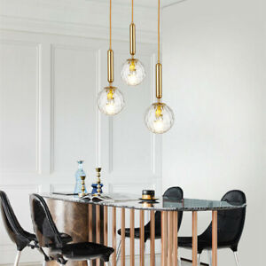 Kitchen Lamp Glass Pendant Light Gold Pendant Lighting Bar Modern Ceiling Lights