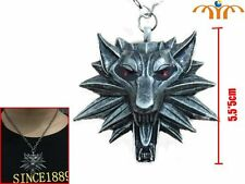 Colgante The witcher necklace wolf lobo SHIPS WORLDWIDE