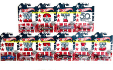Hot Wheels 2018 Stars And Stripes Complete Set 50Th Anniversary