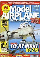 Model Airplane International Magazine 2013 Sep #98 Seafire,Brewster,Jaguar,He219