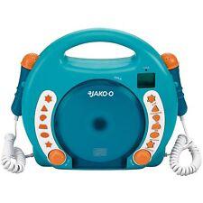 Bobby Joey CD-Player für Kinder mit 2 Mikrofonen zum Mitsingen MP3, SD, USB