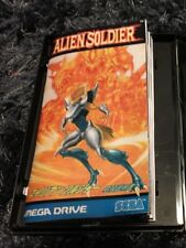 Color Custom Manual ALIEN SOLDIER SEGA Mega Drive JAP Version - AAA+++
