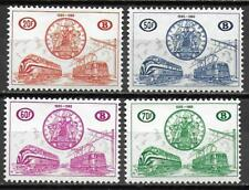 Belgium stamps 1960 OBP SP369-SP372 MNH VF TRAIN stamps