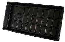 (3) Seedling Tray Flat Cut Kit 10 x 20 1020 No Holes Black Propagation