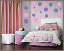 Vinyl wall stickers bedroom decor 50-6 INCH POLKA DOTS