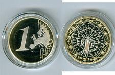 Frankreich  1 Euro  PP/Proof  (Wählen Sie zwischen den Jahrgängen: 2008-2020)