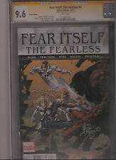 FEAR ITSELF: THE FEARLESS #1 CGC 9.6 1:100 DEODATO VARIANT COVER SS DEODATO JR.!