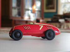 tin racing car  auto union wind up western germany 1950s  us zone blech Blech li