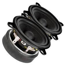 """Pair Faital Pro 3FE25 3"""" Midrange full-range Woofer Speaker 16 ohm 40W 91dB"""