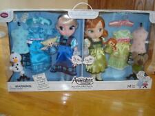 Disney Store Animator's Collection ANNA & ELSA DELUXE GIFT SET