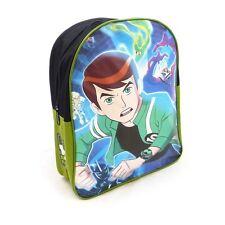 Ben 10 Alien Force School Backpack Rucksack Bag For Boys Adjustable Straps New