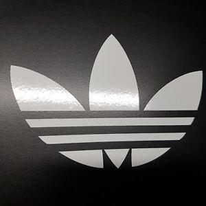 Adidas Trefoil Car Window/Bumper Vinyl Decal Sticker 90mm x 130mm