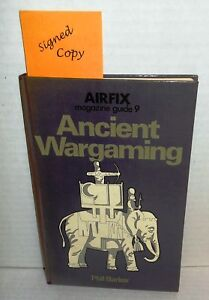 BOOK Hardback Ancient Wargaming by Phil Barker Reference SIGNED op 1975