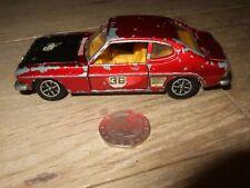 DINKY TOYS FORD CAPRI RALLY CAR No 213 VINTAGE DIECAST MODEL